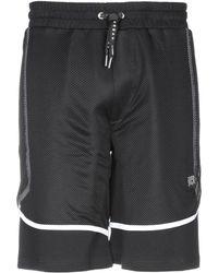 Les Hommes - Bermuda Shorts - Lyst