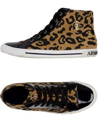 Armani Jeans High-tops & Trainers - Natural