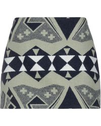 Jessie Western Mini Skirt - Multicolor