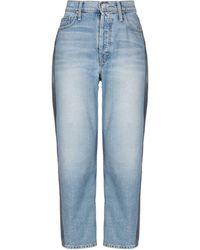 Mother Denim Trousers - Blue