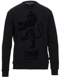 Class Roberto Cavalli Sweatshirt - Schwarz