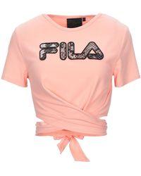 Fila T-shirt - Rose