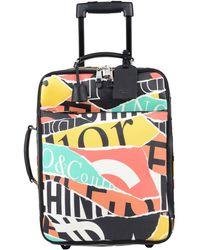 Moschino Wheeled luggage - Yellow