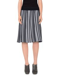O'2nd - Knee Length Skirt - Lyst