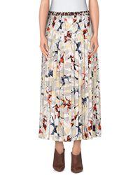 La Prestic Ouiston 3/4 Length Skirt - Blue