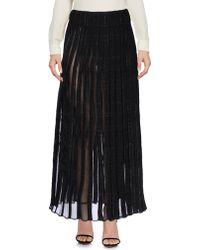 Thom Browne Long Skirt - Black