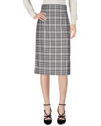 Daks - 3/4 Length Skirt - Lyst