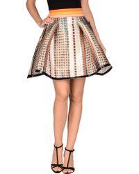 Fyodor Golan Knee Length Skirt - Natural