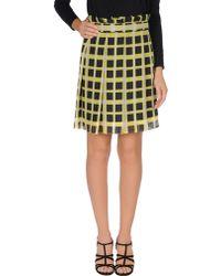 Pollini By Rifat Ozbek - Mini Skirt - Lyst