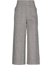 Harris Wharf London Casual Trousers - Grey