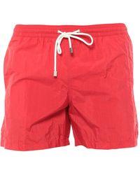 Fiorio Swim Trunks - Red
