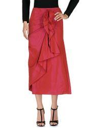 Zapa - Long Skirt - Lyst