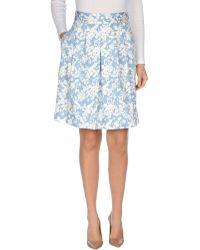 Altea - Knee Length Skirt - Lyst
