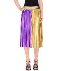 Fanfreluches | Knee Length Skirt | Lyst