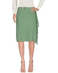PURIFICACION GARCIA - Knee Length Skirt - Lyst