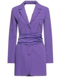 ACTUALEE Robe courte - Violet