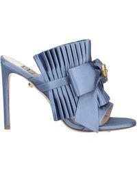 Fausto Puglisi Sandals - Blue