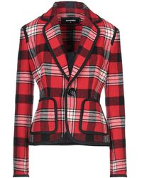 DSquared² Suit Jacket - Red