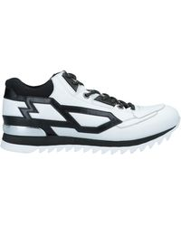 Les Hommes Trainers - White