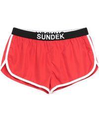 Sundek Shorts & Bermuda Shorts - Red
