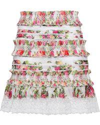 Zimmermann Knee Length Skirt - White