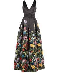Alice + Olivia Long Dress - Black