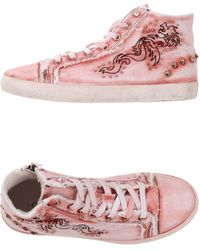 CafeNoir High-tops & Trainers - Pink