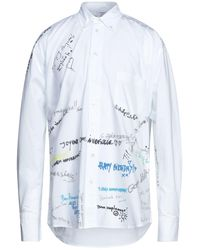 Vetements Hemd - Weiß