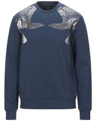 Class Roberto Cavalli Sweatshirt - Blau
