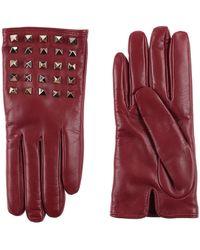 Valentino Garavani Valentino Garavani Gloves - Purple
