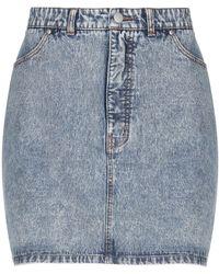 Tibi Denim Skirt - Blue