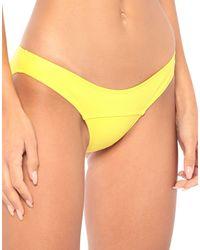 Lisa Marie Fernandez Bikini Bottom - Yellow