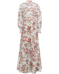 Zimmermann Long Dress - White
