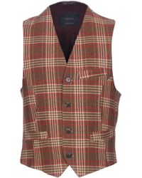 Mr Rick Tailor Waistcoat - Brown