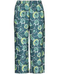 Bini Como Cropped Pants - Green