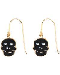 House of Waris Earrings - Black