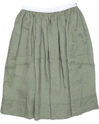 Golden Goose Deluxe Brand 3/4 Length Skirt - Green