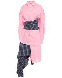 Natasha Zinko Midi Dress - Pink