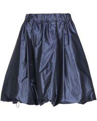 Bogner Knee Length Skirt - Blue