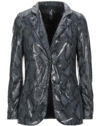 Vintage De Luxe Suit Jacket - Grey