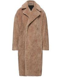 Emporio Armani Teddy coat - Neutro