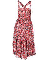N°21 - 3/4 Length Dress - Lyst