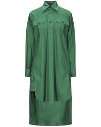Plan C Short Dress - Green
