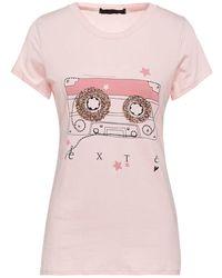 Exte T-shirts - Pink