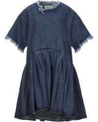 Marques'Almeida Short Dress - Blue