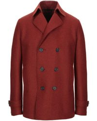 Harris Wharf London Coat - Red