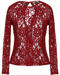 A.m. Blouse - Red