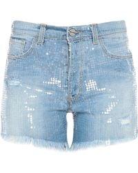 Pinko Shorts jeans - Blu