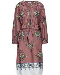 EMMA & GAIA Knee-length Dress - Brown