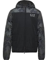 EA7 Down Jacket - Black